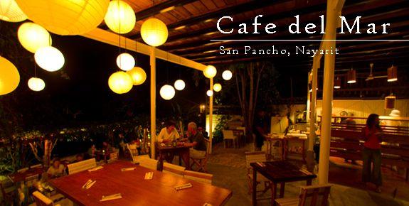 Cafe del Mar San Pancho, Riviera Nayarit, Mexico