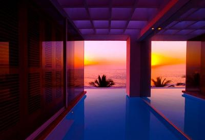 Casa La Playa in Puerto Vallarta is a superb study in elegant simplicity set on the beach in a tropical paradise. Downtown Puerto Vallarta